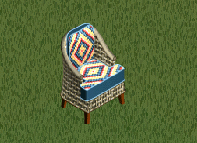 Sioux Sity Wicker Chair