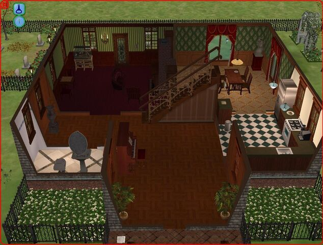 File:Goth home the sims 2 first floor.jpg