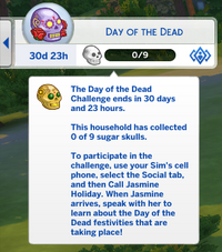 Day of the Dead UI