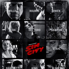 Sin City 2005 character poster.
