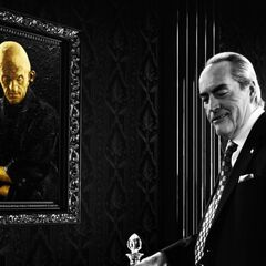 The senator in <i>Nacy's Last Dance</i>.