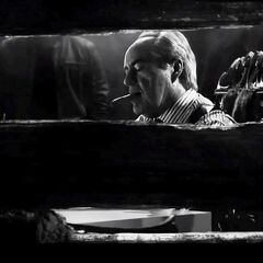 Nancy spies on the senator.