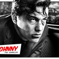 Meet Johnny, the gambler.
