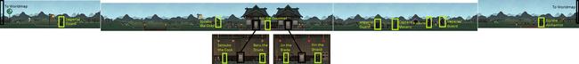 Ryomura Village Map