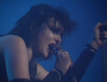 Siouxsie -but you aint no fucking dancer, so look out Helter Skelter-