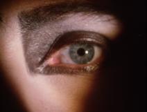 Siouxsie's left eye
