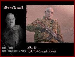 Takeaki misawa