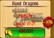 Hand Dragons Sale Price
