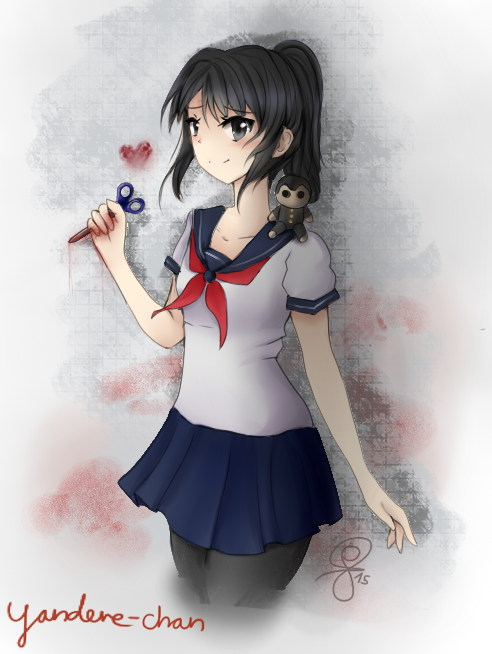 Yandere chan by hitominami-d94cxuv