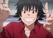 Ryosuke peace sign