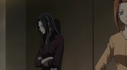 Kanae smirking in the corner