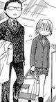 Chibi toudou and kyoko talking
