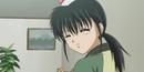 Kyoko smiles tender
