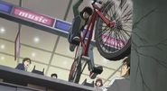 Kyoko bike on the wall