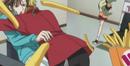 Shotaro falls on shoko