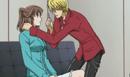 Shotaro and shoko flirting