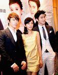 The three main cast