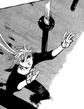 Kyoko catches her falling blades in momiji test
