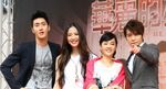 The four main cast