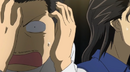 Sawara covers his face on embarassment
