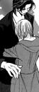 Ren and kyoko hug full view