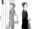 Saena just walks past kyoko
