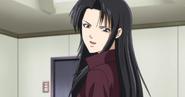 Kanae smiles at kyoko-chan