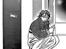 Misonoi waiting for Saena outside