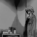 Kyoko looks away depressed