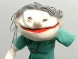 Skippy Shorts Creepy Old Lady