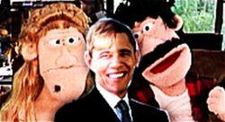 Skippy Shorts Obama's Funny Inauguration