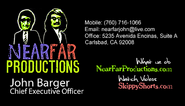 NearFar Productions John Barger Chief Executive Officer