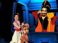 Aladdin, Oop-Oop and Jafar