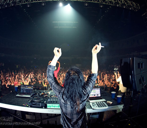 Skrillex Live Show