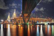 Bhumibol Bridge - Bangkok