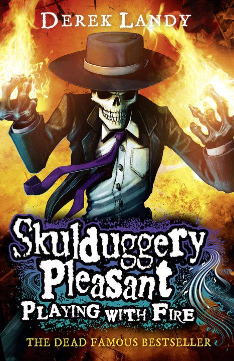 Skulduggery Pleasant Playing With Fire Skulduggery