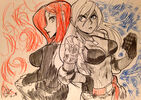 Parasoul and Vanessa