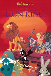 Skunk's Adventures of Lion King Poster