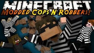 Minecraft Mini-Game MODDED COPS N ROBBERS! TORNADOES!