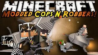 Minecraft Mini-Game MODDED COPS N ROBBERS! GALACTICRAFT!