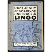 Dictionary of American Underworld Lingo