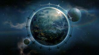Skyforge backdrop