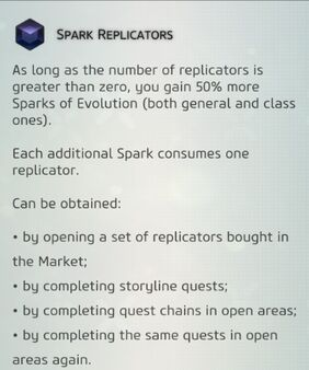 Spark Replicators 001