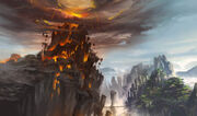 The gates of hell by xiaoxinart-d50sdhw