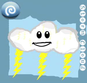 Storm Cloud Card