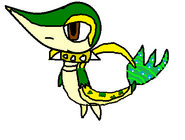 Mysterious Snivy