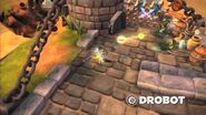 Skylanders Spyro's Adventure - Drobot Trailer (Blink and Destroy)