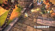 Skylanders Spyro's Adventure - Drobot Trailer (Blink and Destroy)