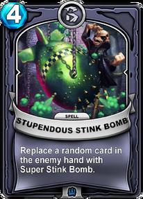 Stupendous Stink Bombcard