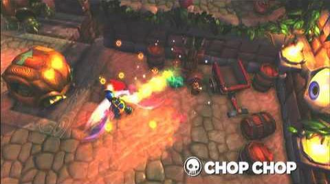 Skylanders Spyro's Adventure - Chop Chop Preview Trailer (Slice and Dice)